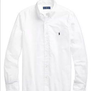 Polo Ralph Lauren White Button Down Shirt